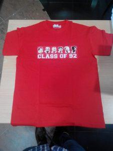 baju kelas siap di cetak